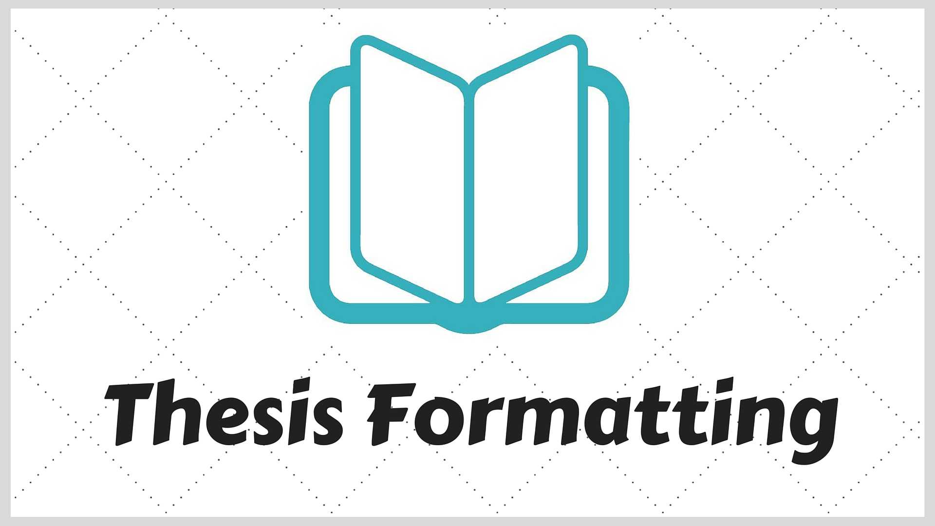 AIOU B.ed Thesis Format online